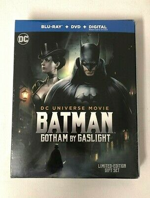FACTORY SEALED Batman: Gotham by Gaslight [Includes Digital Copy] [Blu-ray/DVD]