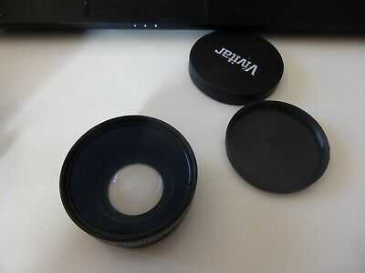 Vivitar HD 4 MC AF High Definition Lens Wide Angle Converter Macro Japan Optics