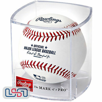 2019 London Series Red Sox Yankees Rawlings Official MLB Game Baseball - Cubed