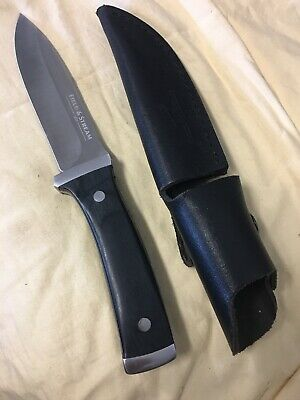 Field and Stream Fixed Blade Knife with Sheath Hunting Camping Fishing Survival