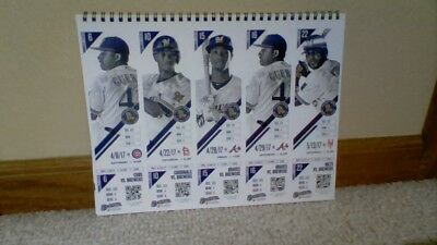 Milwaukee Brewers 2017  Season Tickets Still In Booklet New Souviner Near Mint