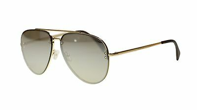 f0ac18ce1096 Celine Unisex Sunglasses Cl41391 J5G SS Gold Silver Lens Aviator Authentic  USED