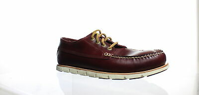49b39a640f5 TIMBERLAND MEN'S TIDELANDS Ranger MOC Casual Medium Red Suede Shoes ...