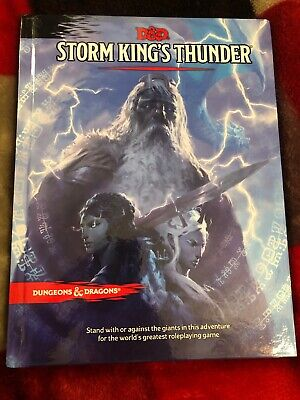D&D 5E STORM King's Thunder D&D Dungeons And Dragons Adventure