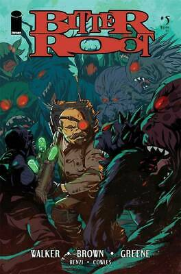 Bitter Root #5 Image Comics Cover A Greene  2019 1St Print Movie