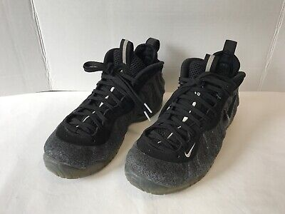 6984dff8d3c93 NIKE AIR FOAMPOSITE Pro Wool Fleece Dark Grey 624041 007 Sz 8.5 ...
