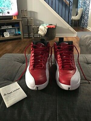 separation shoes 61b4d 06d57 AIR JORDAN RETRO 12 Mens Alternate Gym Red Cherry White Size 12 worn three  times