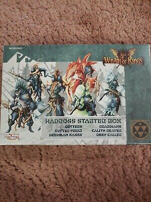 CMON Wrath of Kings Nasier Starter Box Lion Rampant Imports CA WOK01001