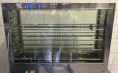 Commercial Restaurant Cafe  AUSTHEAT BENCH TOP Display Pie Warming Oven