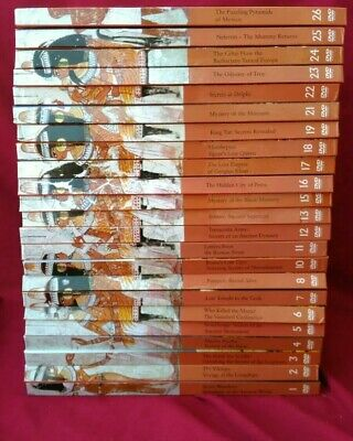 Ancient Civilizations 23 DVD LOT Discovery History Channel King Tut City of Petr