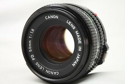 Canon New FD 50mm 1:1.8 Lens *As Is* #F019g