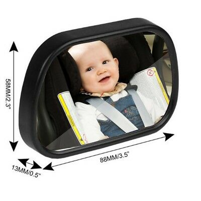 Baby Car Seat Rear View Mirror Facing Back Infant Kids Children Toddler Safety