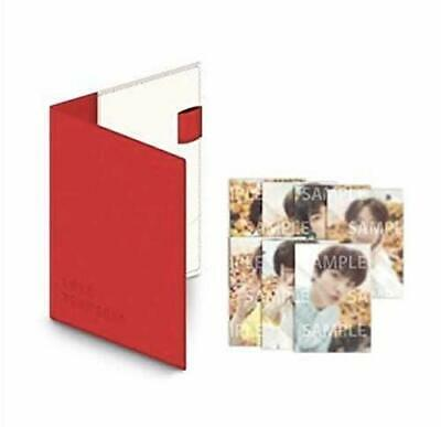 NEW BTS WORLD TOUR LOVE YOURSELF Official Passport Case with Photocard F/S
