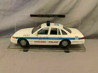 1/24th scale Chicago, IL Police 1999 Ford Crown Victoria Code 3 #1 Of 25000