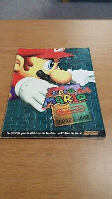 Super Mario 64 Official Strategy Guide by Nintendo Power N64