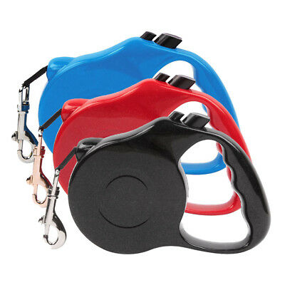 3/5M Retractable Dog Leash Training Puppy Extending Traction Rope Dog Collar