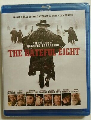 THE HATEFUL EIGHT (Blu-ray, 2016, Western) *NEW* SHIPS FAST Mon-Sat!