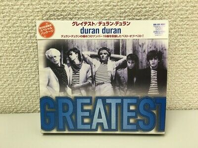 Duran Duran THE GREATEST Japan Memorial CD Free Shipping