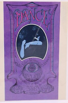 The Family Dog Fd-96 Quicksilver Messenger Service Avalon Ballroom 1967 Postcard
