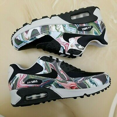 wholesale dealer 1bd67 9ddcb Women s Nike Air Max 90 Marble Women s Shoes Size 6.5 Style AO1521 001