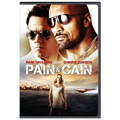 Pain & Gain (DVD, 2013)  BRAND NEW - Free Shipping within 23 hours of payment
