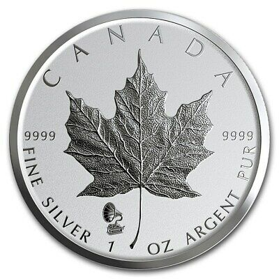 CANADA 5 Dollars Argent 1 Once Maple Leaf Marque Edison 2019