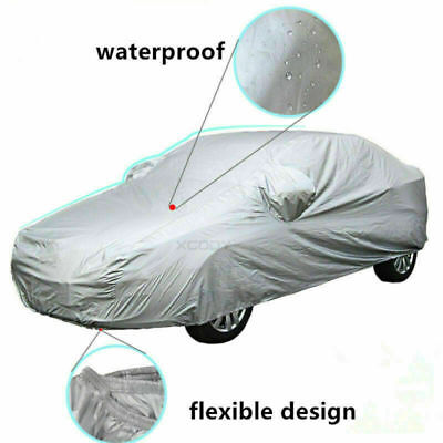 XL Car Cover Universal Full Aganist Waterproof UV Rain Resistant Snow Dust
