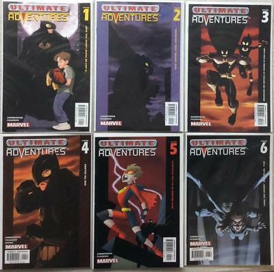 Ultimate Adventures complete series #1 - #6 (Marvel 2003) FN to VF condition.
