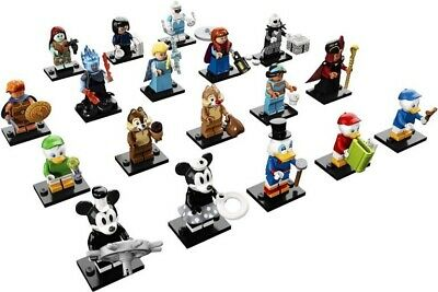 LEGO Minifigures DISNEY SERIES 2 Complete Set Of 18 Figures 71024 SEALED PACKETS