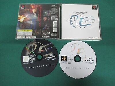 PlayStation -- Parasite Eve -- no manual. PS1. JAPAN GAME. work. 19915