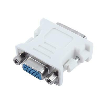 DVI-I Dual Link 24+5 Male to VGA Female(15-pin) Audio Video Adapter Connector