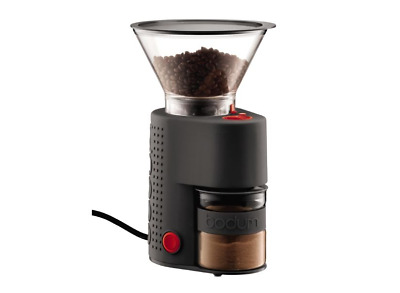 Bodum Bistro Electric Burr Coffee Grinder Black 10903-01AUS