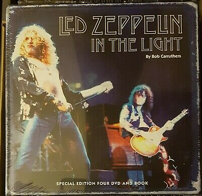 "LED ZEPPELIN - IN THE  NIGHT 11"" 4xDVD + BOOK !! FREE SHIP ! DEEP PURPLE QUEEN"