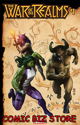 War Of The Realms #1 (Of 6) (2019)  Camuncoli Connecting Variant Cover ($5.99)