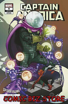 Captain America #9 (2019) 1St Printing Ferry Spider-Man Villains Variant Cover