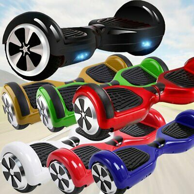 """Hoverboard 6.5''/10"""" Smart Balance Overboard Pedana Scooter Bluetooth Colori"""