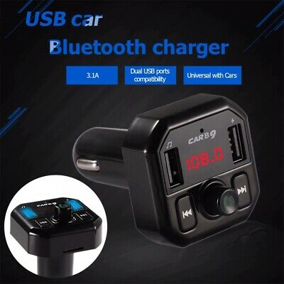 Wireless FM Transmitter USB TF card Mp3  Bluetooth Auto Freisprechanlage CVC