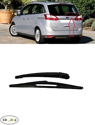 FORD SMAX NEW REAR WIPER ARM BLADE+Free spare blade+fittings 2006onwards S MAX