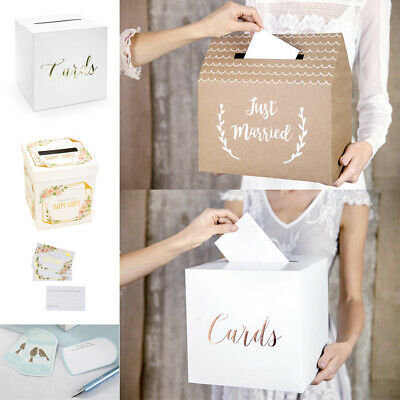 Wedding Card Post Box,Gift Card Posting Box,Wedding Wishes/Advice Boxes & Cards