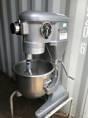 20L Crypto Peerless EC20 Commercial Dough Mixer, 2 Bowls, Whisk & Paddle Only.
