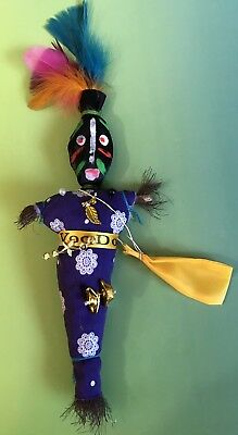 Authentic Voodoo Doll Handmade Pagan Witch Poppet Witchcraft New Orleans