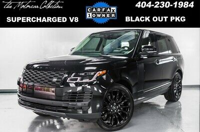 2019 Land Rover Range Rover  2019 Land Rover Range Rover V8 Supercharged Black Out Pack
