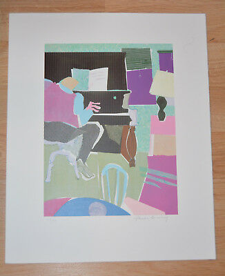 Rare LITHOGRAPH PHOEBE BEASLEY African American Artist 17x21 Los Angeles 96/99 A