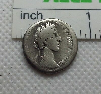 Original Ancient ROMAN SILVER COIN denarius Commodus / Commod  138-161 AD. #478