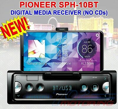 Pioneer Sph-10Bt Apple Carplay Android Auto Pioneer Car Stereo Bluetooth Usb Bt