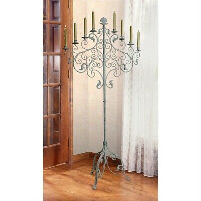"""59"""" H Antique Style Castle Gothic Ornate Candelabra Medieval Style Lighting"""