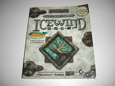 ICEWIND DALE 1 - Sybex OFFICIAL STRATEGY GUIDE BOOK inc Colour POSTER Pc