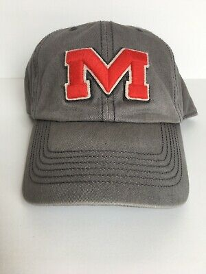 new style a9a04 828b3 University Of Mississippi (Ole Miss Rebels) 47 Twins Hat In Gray
