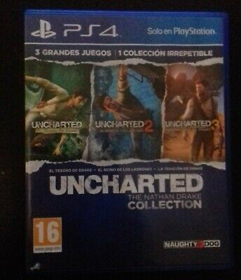 Trilogia Uncharted the Nathan Drake Collection Ps4