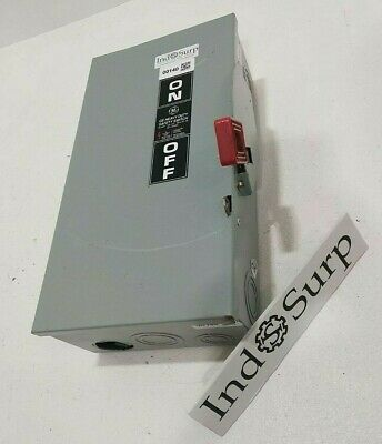 GE 100 Amps Disconnect Safety Switch  600 Volt Cat# NP1578000P